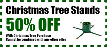 50% Off Christmas Tree Stands